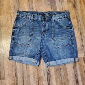 C-  Gap Denim Shorts Size 8